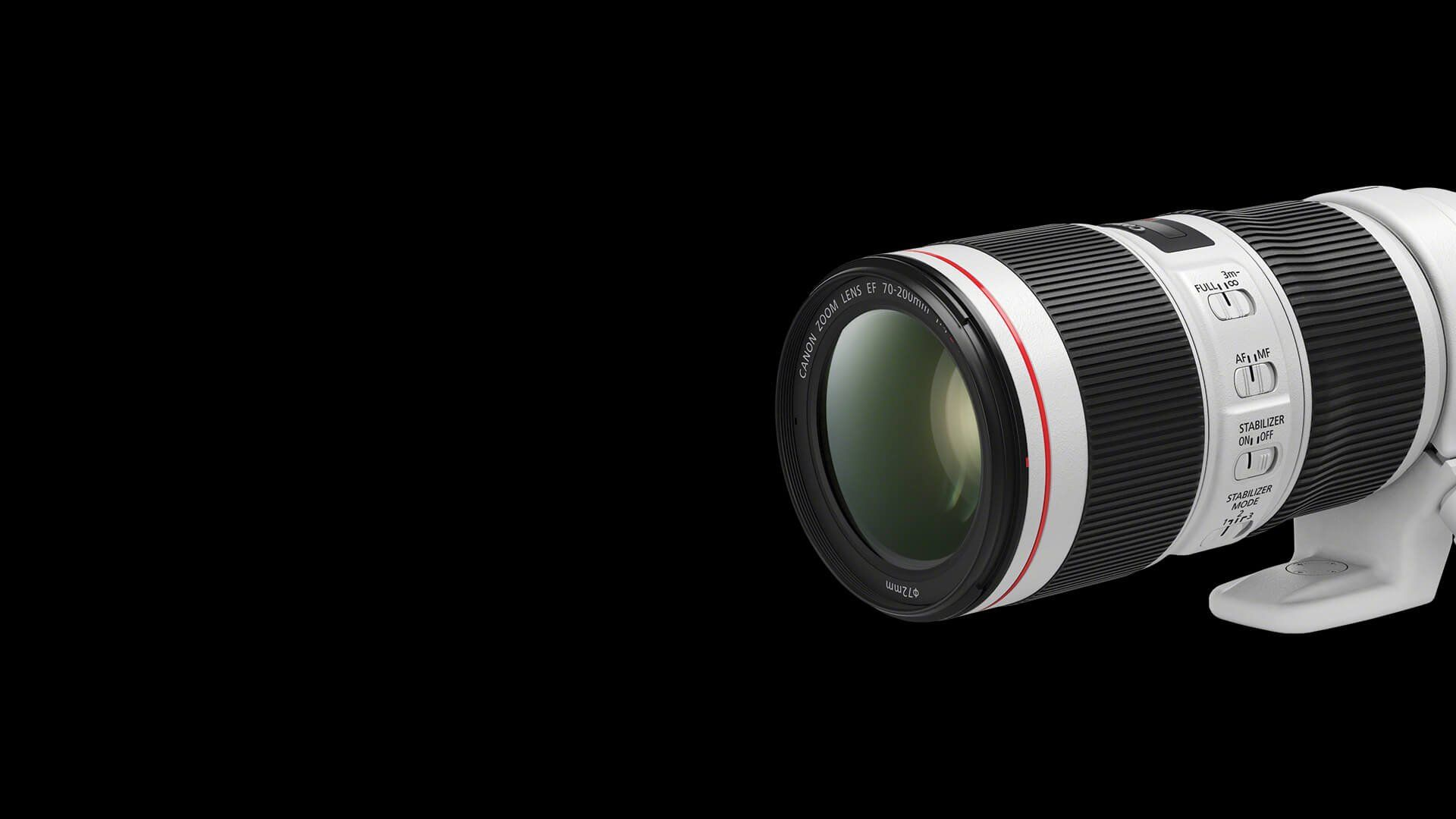EF 70-200mm f/4L IS II USM Hero